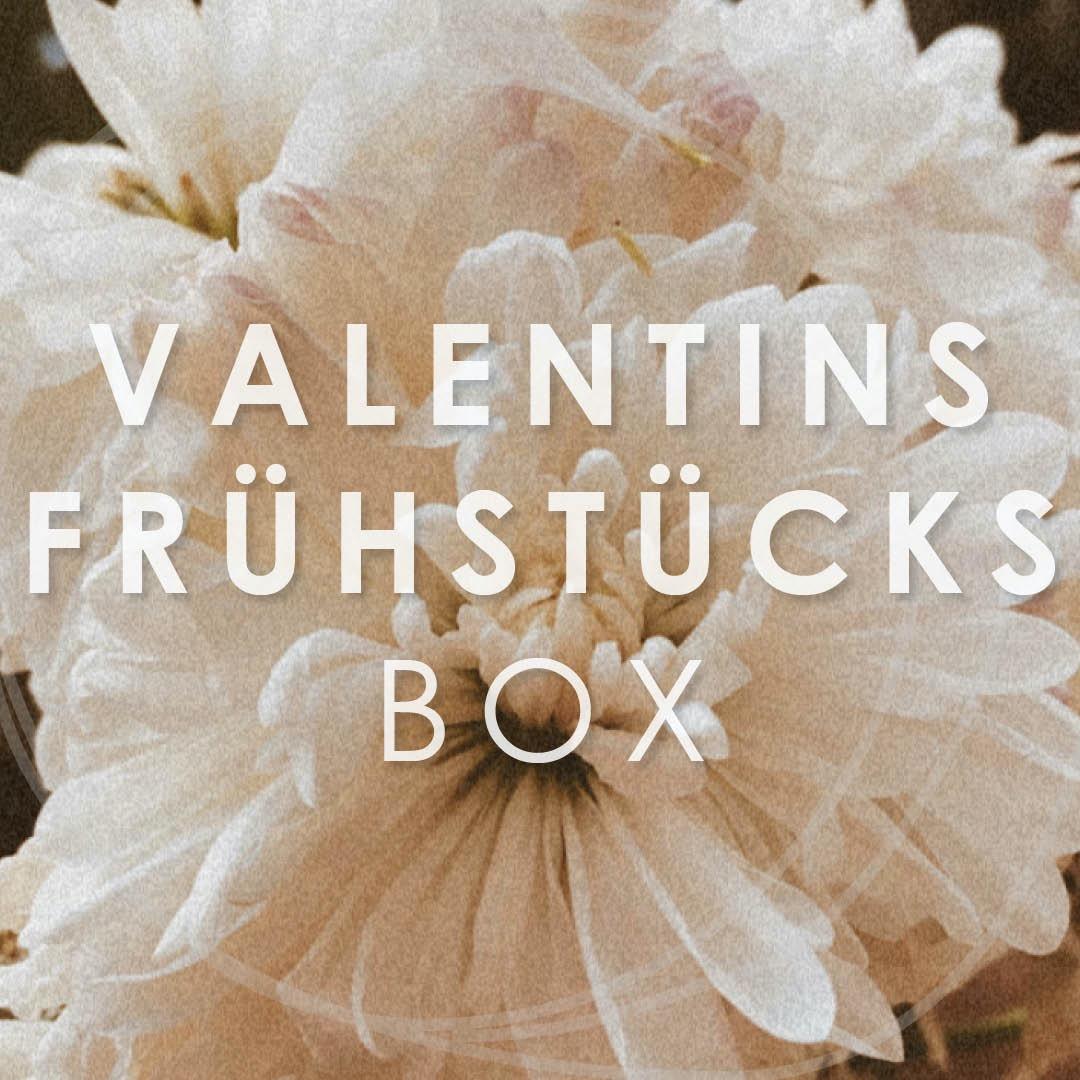 valentins frühstücks box